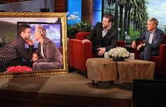 Justin Timberlake and Ellen DeGeneres (Warner Bros)