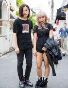 Harajuku Duo w/ Bonjour Records, Yohji Yamamoto, Honey Cinnamon, Balmain & Raf Simons