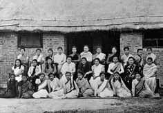 The Quetta Platoon, Women's Auxiliary Corps (India), in civilian dress, 1942. Photo credit: National Army Museum, UK