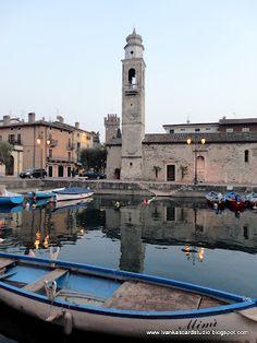 Lazise, Lake Garda, province of Verona, Veneto region , Italy.