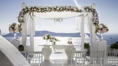Moments | Santorini Weddings by Dana Villas, Sunset Ceremony and Private Dinner Reception Venue