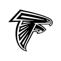 Atlanta Falcons logo NFL graphics design SVG by VectordesignStudio