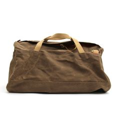 Image of Archival Duffel • Waxed Tan