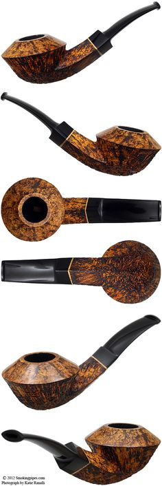Pohlmann Partially Sandblasted Bent Bulldog
