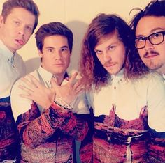 Looks like the guys from Comedy Central's Workaholics really like our shirts...