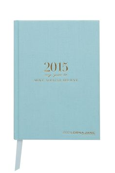 MNB Diary 2015 - Planning for a fabulous 2015. #lornajane #ljfitlist