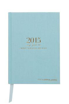 MNB Diary 2015 - Planning for a fabulous 2015. #lornajane #ljfitlist