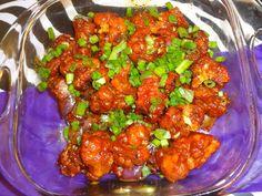 Gobhi Manchurian Dry – TasteBuds Spicy Sauce, Iftar, Tandoori Chicken, Cauliflower, Fries, Easy Meals, Appetizers, Homemade, Snacks