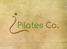 Pilates Co. -  Custom Premade Logo by Aticnomar on Etsy https://www.etsy.com/listing/203481757/pilates-co-custom-premade-logo