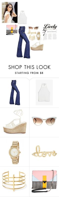 """""""casual  fgoe outing with family"""" by chisomnatalie on Polyvore featuring beauty, Sonia Rykiel, Monki, Chloé, Gucci, DKNY, Sydney Evan, BauXo and Iceberg"""