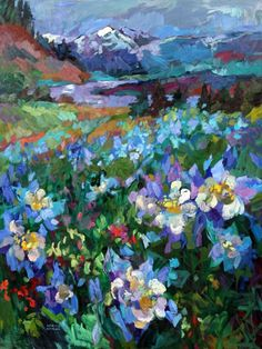 larisa aukon paintings | Larisa Aukon.... #blue