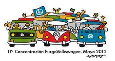 Concentración de furgonetas Volkswagen en Sant Pere Pescador | QuintaMarcha.com