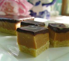 patternpatisserie: Billionaire or Millionaire's Shortbread or chocolate and English fudge squares!!