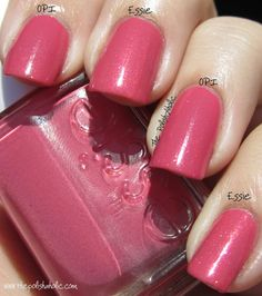 China Glaze Metro - OPI My Address is Hollywood vs. Essie Your Hut Or Mine
