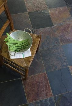 Un-calibrated Natural Slate Sheera Multi Colour (30X30) Tile | Topps Tiles