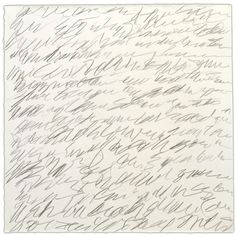 Cy Twombly, Letter of Resignation.