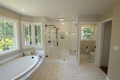 Master Bath - traditional - bathroom - san francisco - Nunley Custom Homes Clay Beige wall color by Benjamin Moore