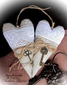 Куклы Тильды ручной работы. Ярмарка Мастеров - ручная работа Я подарю тебе сердце...    (Тильда-сердечко в стиле Прованс). Handmade.