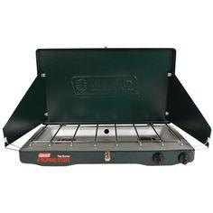 Coleman Perfectflow 2-Burner Classic Stove - https://www.boatpartsforless.com/shop/coleman-perfectflow-2-burner-classic-stove/