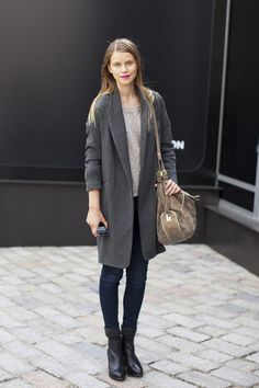 a nice long coat to keep you warm this winter.