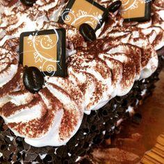 Tiramisoooogood is one of our signature cakes! You can order one on our website - TODAY! #tiramisu #chocolate #whippedcream #cake #torte #coffee #espresso #chocolatecurls #boulder #colorado #orderonline