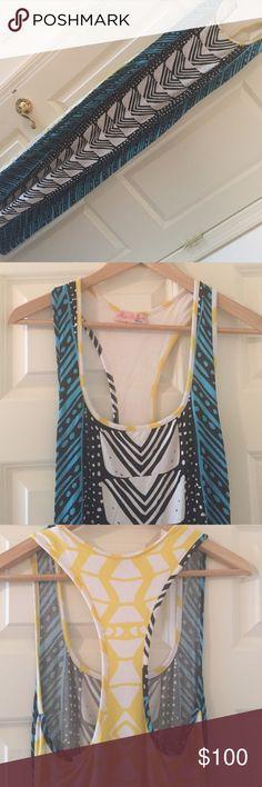 Multi colored maxi dress Racer back. Maxi dress Mara Hoffman Dresses Maxi