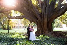 Vow Wedding Photography. The tree's at UWA ( University of Western Australia ) in Perth is one of my favourite places for wedding photographs.
