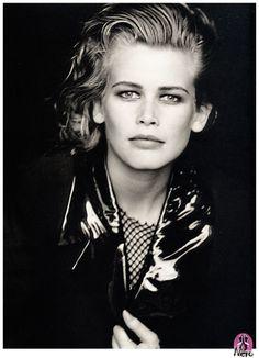 Claudia Schiffer by Peter Lindbergh. www.goachi.com
