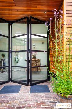 Steel Doors, Tiny House, Villa, Windows, Living Room, Glass, Furniture, Modern, Design