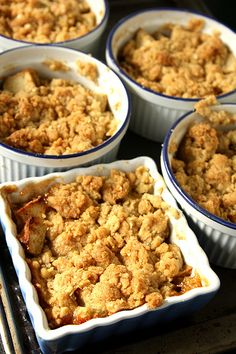 Ina Garten's Old Fashioned Apple Crisp - a hit in our house every Fall.