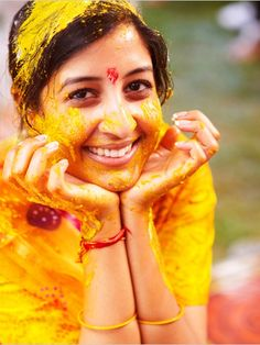 I n d i a * | thedulhandiaries: Haldi Ceremony