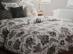 Cynthia Rowley here is our bedding