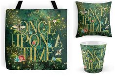 With Love for Books: Once Upon A Time Tote Bag, Mug & Pillow Giveaway