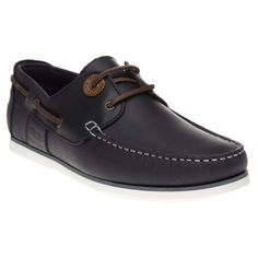 745c90abf5cd03 Mens Blue Barbour Flinders Shoes at Soletrader