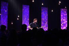 "Ed Sheeran performs ""Lego House."""
