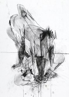 Obscured Abstract. Original A1 Willow by DavidHewittArtist on Etsy #art #artist…