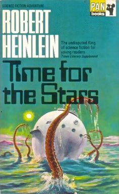 Publication: Time for the Stars  Authors: Robert A. Heinlein Year: 1968-00-00 Catalog ID: #02028 Publisher: Pan Books  Cover: Edward Mortelmans