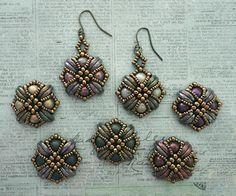 Tara Earrings with Druks