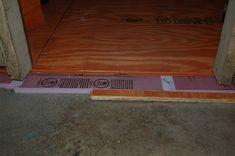 Installing Dricore On Uneven Floor