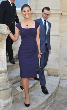Princess Victoria Photos - Princess Victoria and Prince Daniel of Sweden Official Trip to France - Zimbio