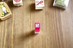 Self-inking Pink Kitten Stamp – Kodomo no Kao