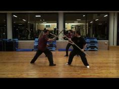 ▶ Spear Play of Paulus Hector Mair - YouTube