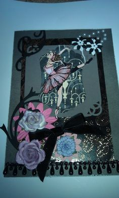 Happy Crafter Shell: Challenge card, Dead Dancer