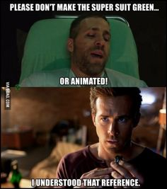 Well played Deadpool. Well played. | GREEN LANTERN WHO?