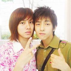 Heechul and Kibum - Super Junior