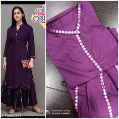 Kurta Sets Women's Rayon Kurta Set with Sharara Kurta Fabric: Rayon Bottomwear Fabric: Rayon Fabric: Rayon Set Type: Kurta With Bottomwear Bottom Type: Sharara Sizes: L, XXL Country of Origin: India Sizes Available: L, XXL   Catalog Rating: ★4.2 (508)  Catalog Name: Women's Rayon Kurta Set with Sharara CatalogID_2997744 C74-SC1003 Code: 655-15052871-0441