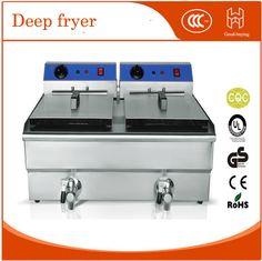 Restaurant kitchen maker thicken high quality 25L commercial deep fryer