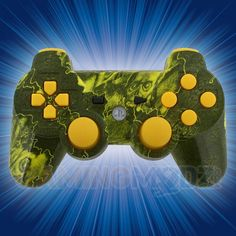 Our Biohazard Skulls modded controllers are now available in green for both Playstation 3 and Xbox 360. They feature our Biohazard pattern in green and are available with all of our new mods. This includes our Master Mod which gives you all of our exclusive mods at a fraction of the price. Order now! Here is the link for the video: http://www.youtube.com/watch?v=rV_v-iAKeO0=share=UUftBz8dqBMAOn5hi40WWqqw