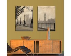 Big Ben & Parliament,δίπτυχος πίνακας σε καμβά Big Ben, Furniture, Home Decor, Decoration Home, Room Decor, Home Furnishings, Arredamento, Interior Decorating