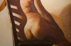 Woman in a Chair bySusan Singer, an artist, featured in CALYX Creative People, Singer, Woman, Chair, Art, Singers, Women, Stool, Chairs